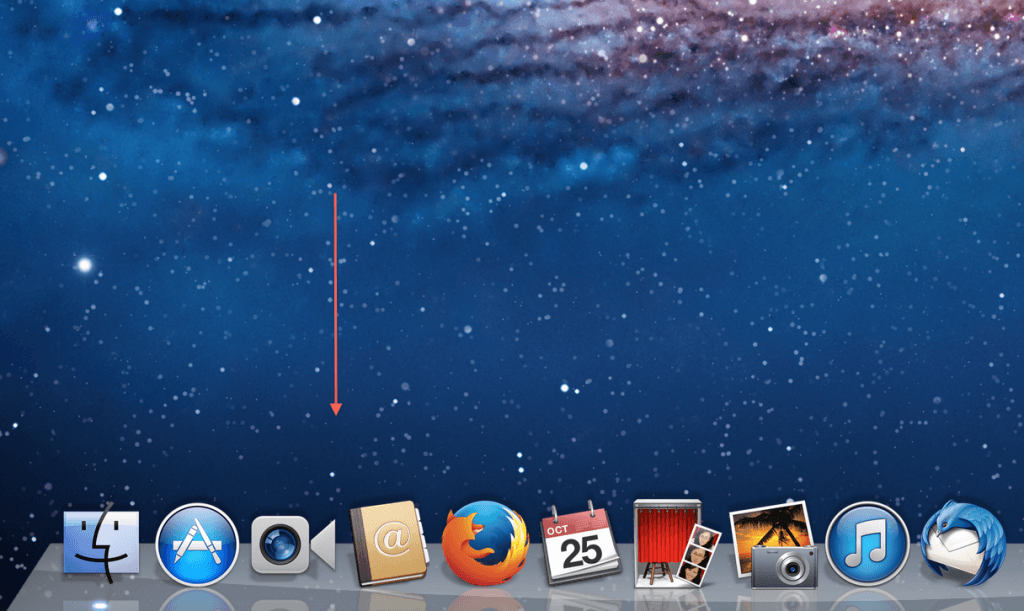 mavericks how to move dock