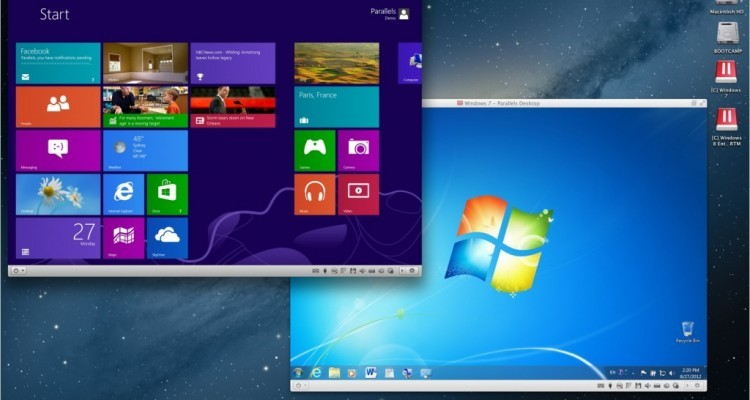 best way to run windows on mac parallels