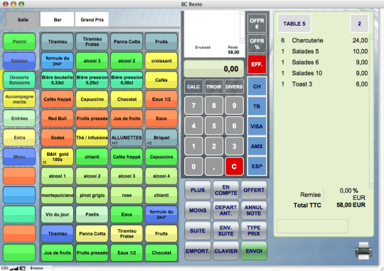 restaurant pos for mac software - bcresto for mac