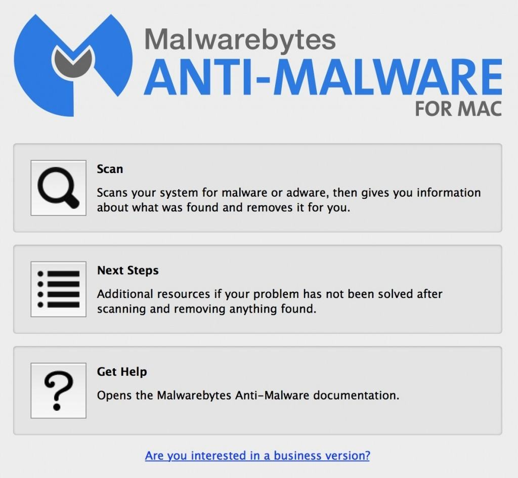malwarebytes for mac interface