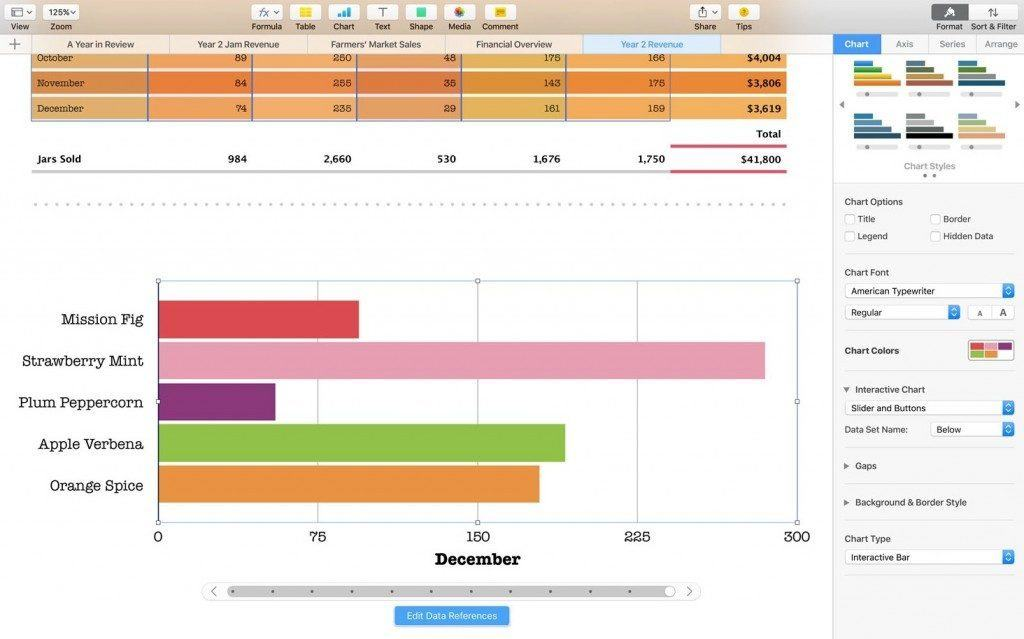 free statistical analysis software mac - numbers