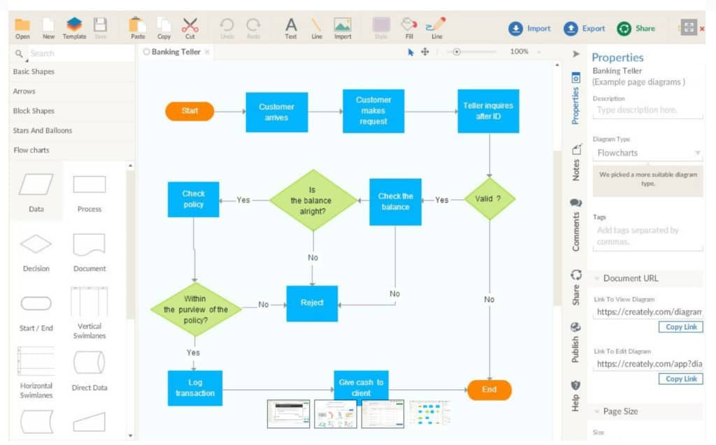 visio free on mac alternative creately interface - Free Visio Type Software