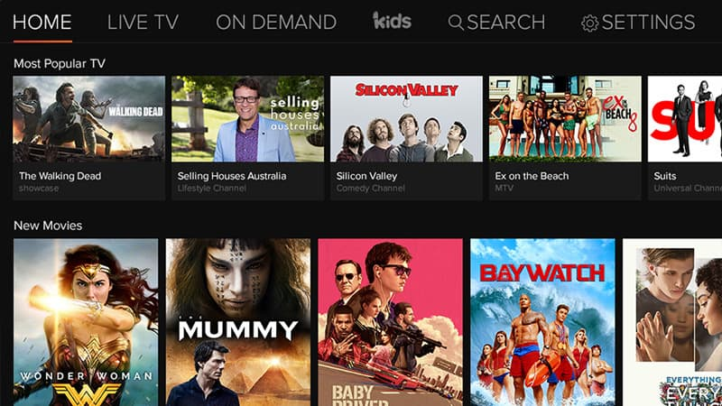 foxtel now mac - browser