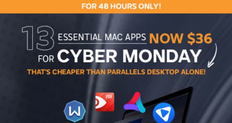 cyber monday mac bundle deal
