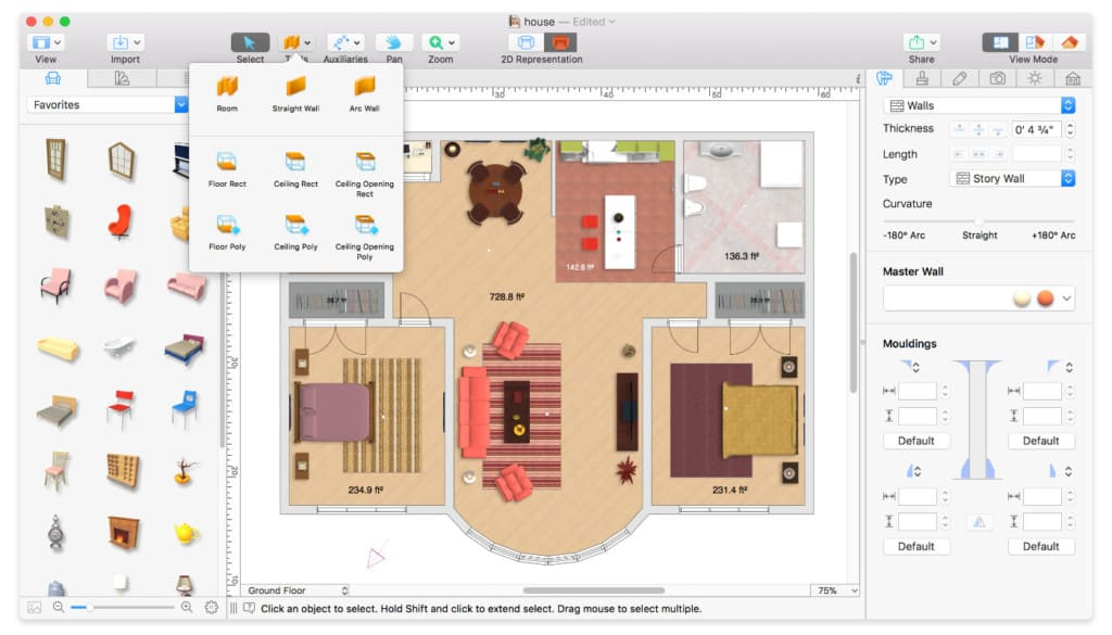 10 Best Floor Plan Home Design Software For Mac Of 2021
